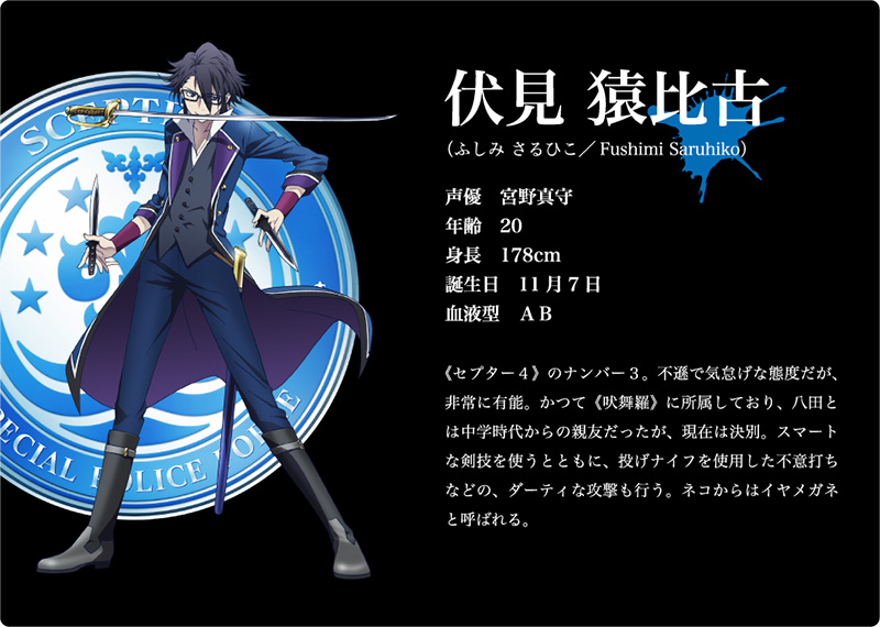 K-Return-of-Kings-Character-Design-Saruhiko-Fushimi