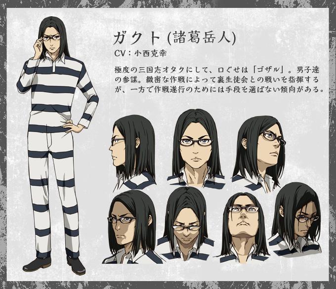 Prison School -Anime-Character-Design-Takehito Morokuzu