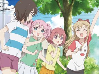 YuruYuri Nachuyachumi!+ Episode 1 Airs August 21