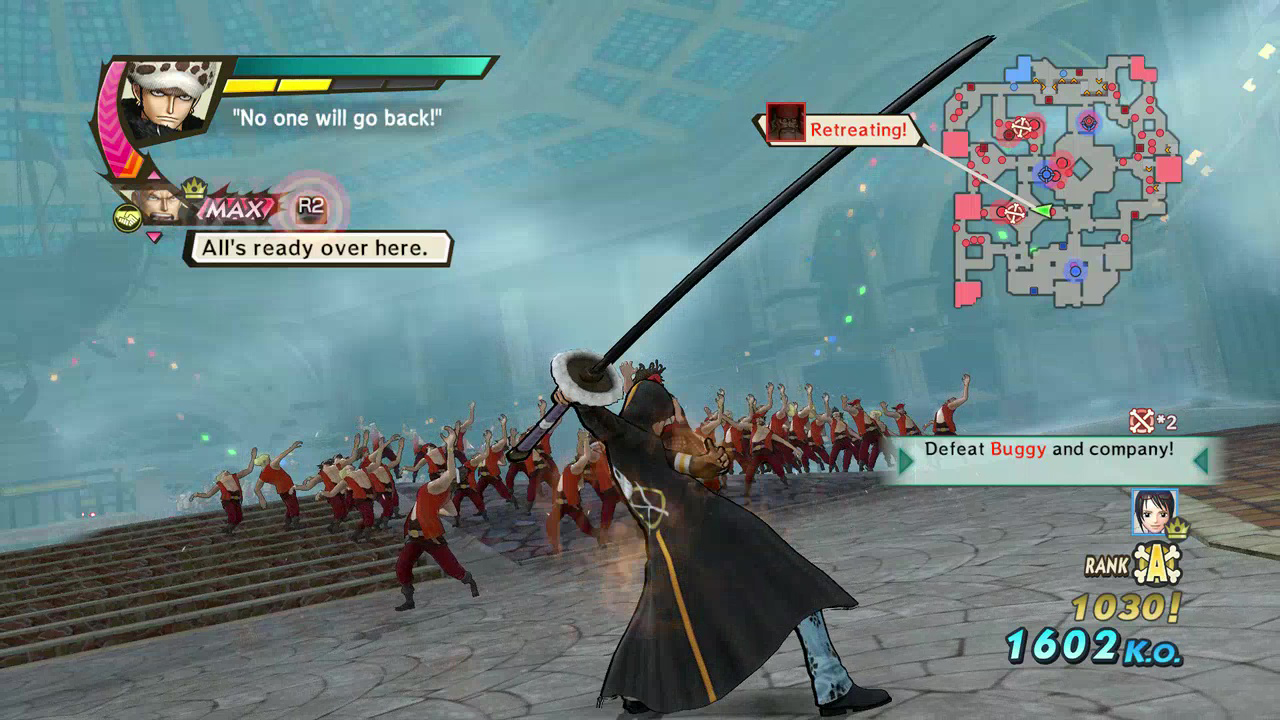 One Piece Pirate Warriors 3 Launch Screenshot 01
