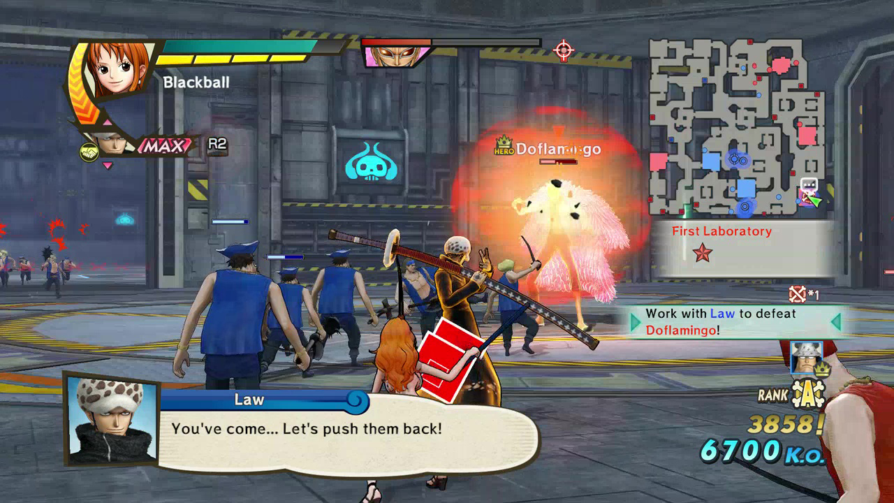 One Piece Pirate Warriors 3 Launch Screenshot 02