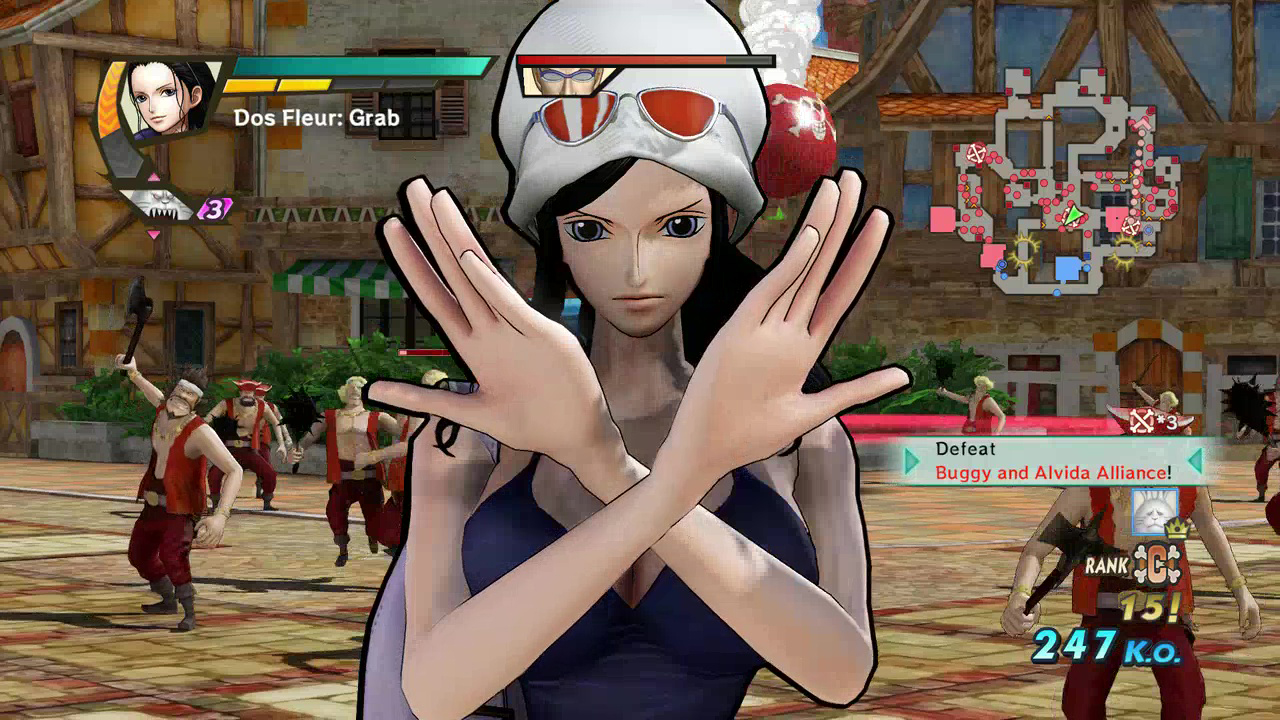 One Piece Pirate Warriors 3 Launch Screenshot 03