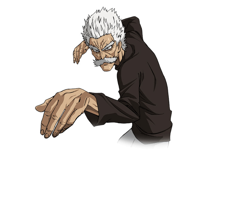 One-Punch-Man-Anime-Character-Designs-Silver-Fang