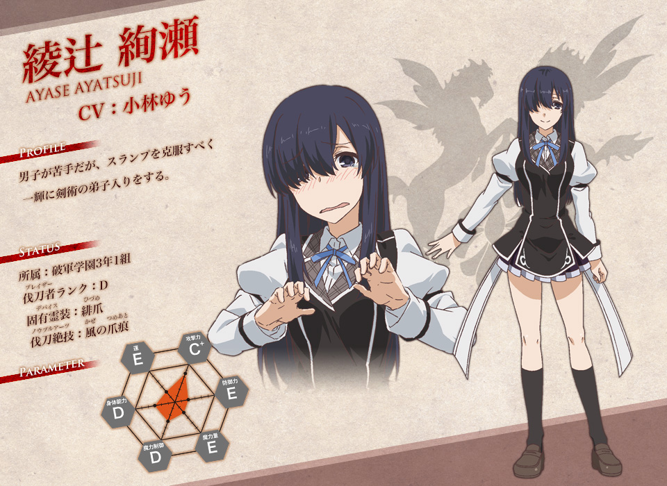 Rakudai-Kishi-no-Cavalry-Anime-Character-Designs-Ayase-Ayatsuji