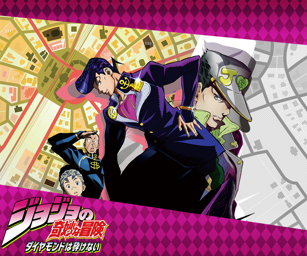 JoJos-Bizarre-Adventure Diamond-Is-Unbreakable-Anime-Visual