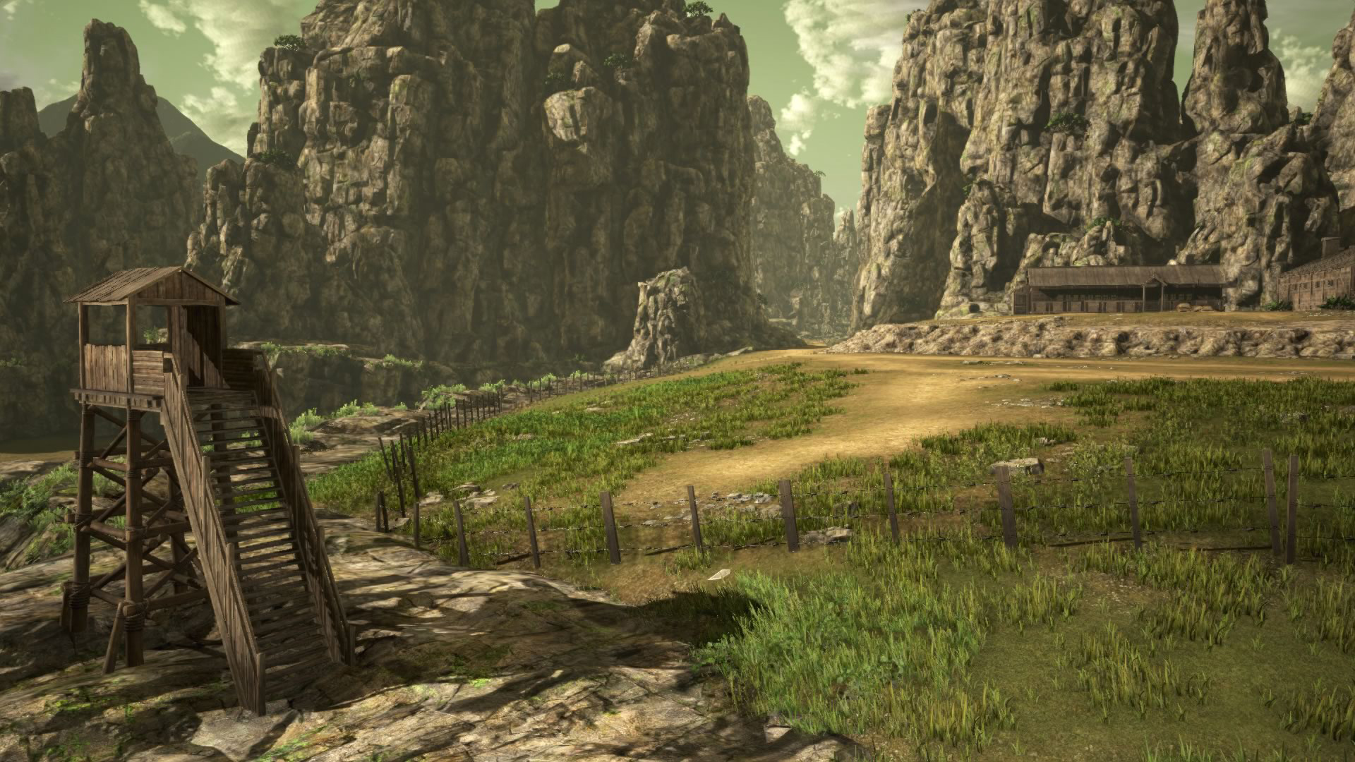 Koei Tecmo Attack on Titan Environment Screenshots 01