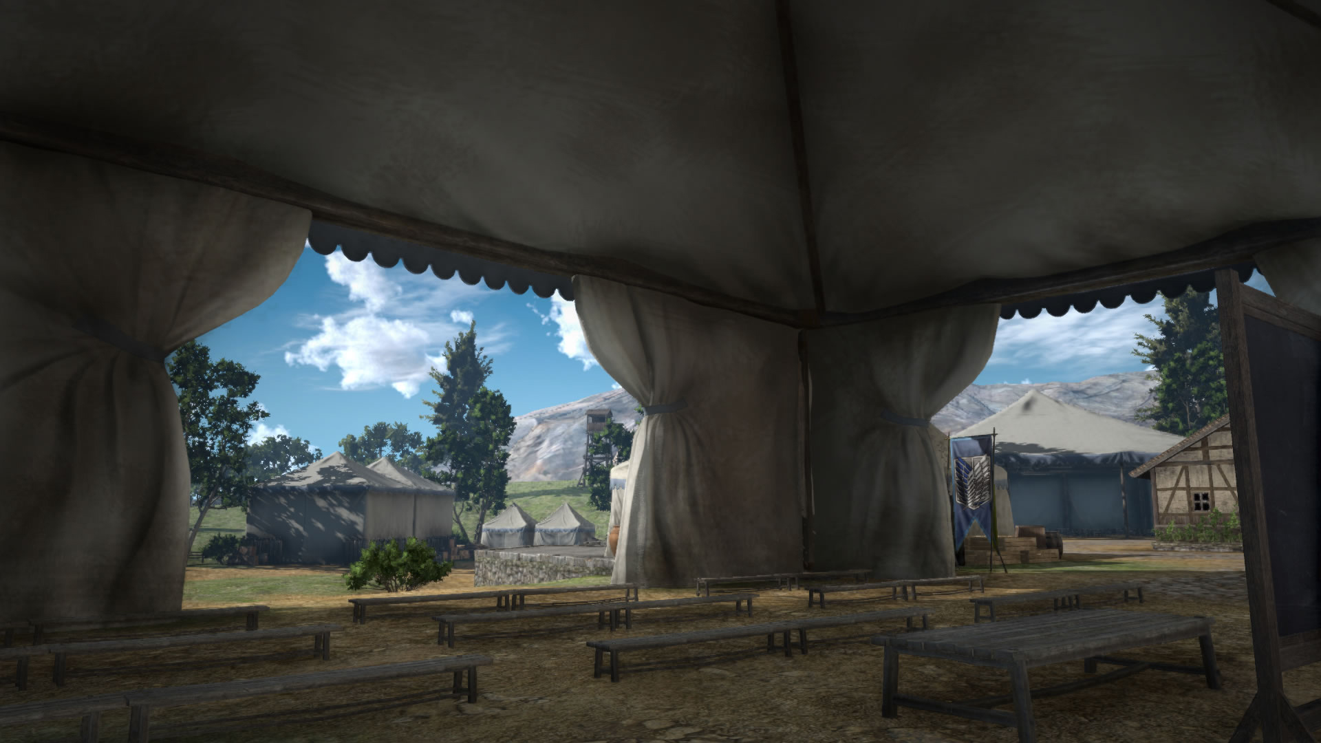 Koei Tecmo Attack on Titan Environment Screenshots 08