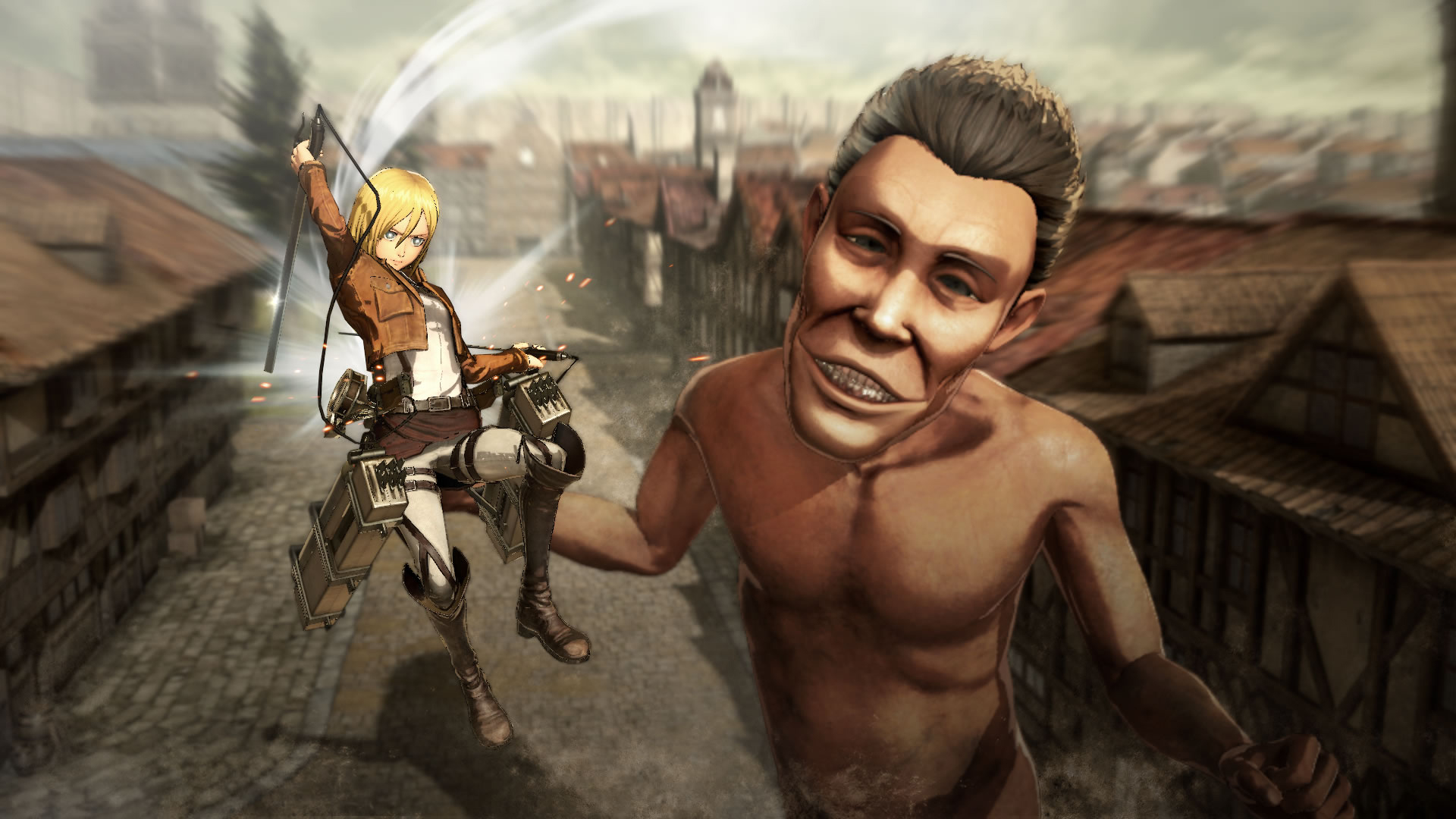 Koei Tecmo Attack on Titan Nov Screenshots 02