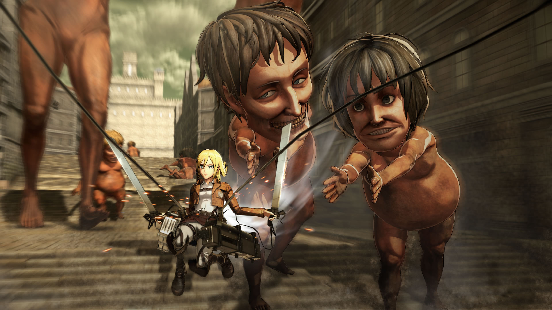 Koei Tecmo Attack on Titan Nov Screenshots 03