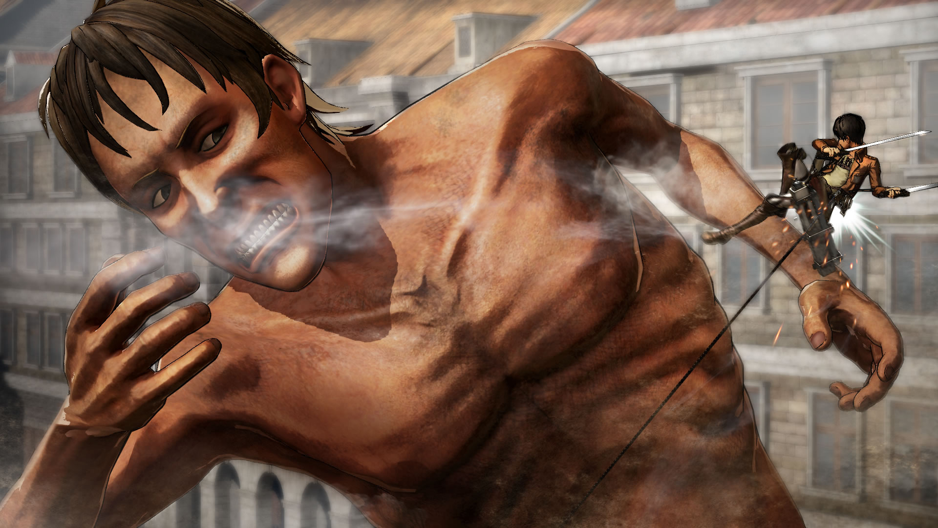 Koei Tecmo Attack on Titan Nov Screenshots 10