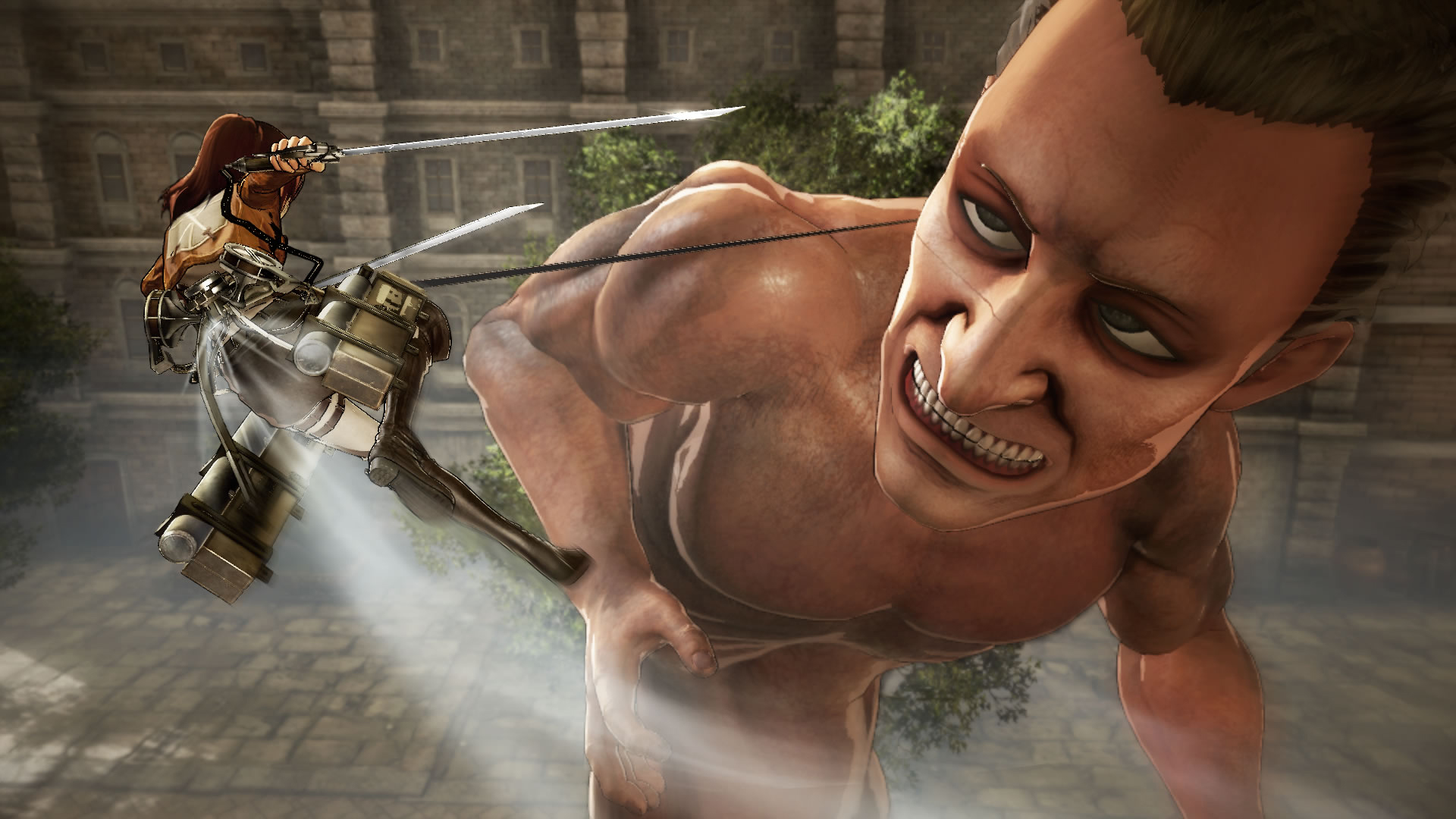 Koei Tecmo Attack on Titan Nov Screenshots 12