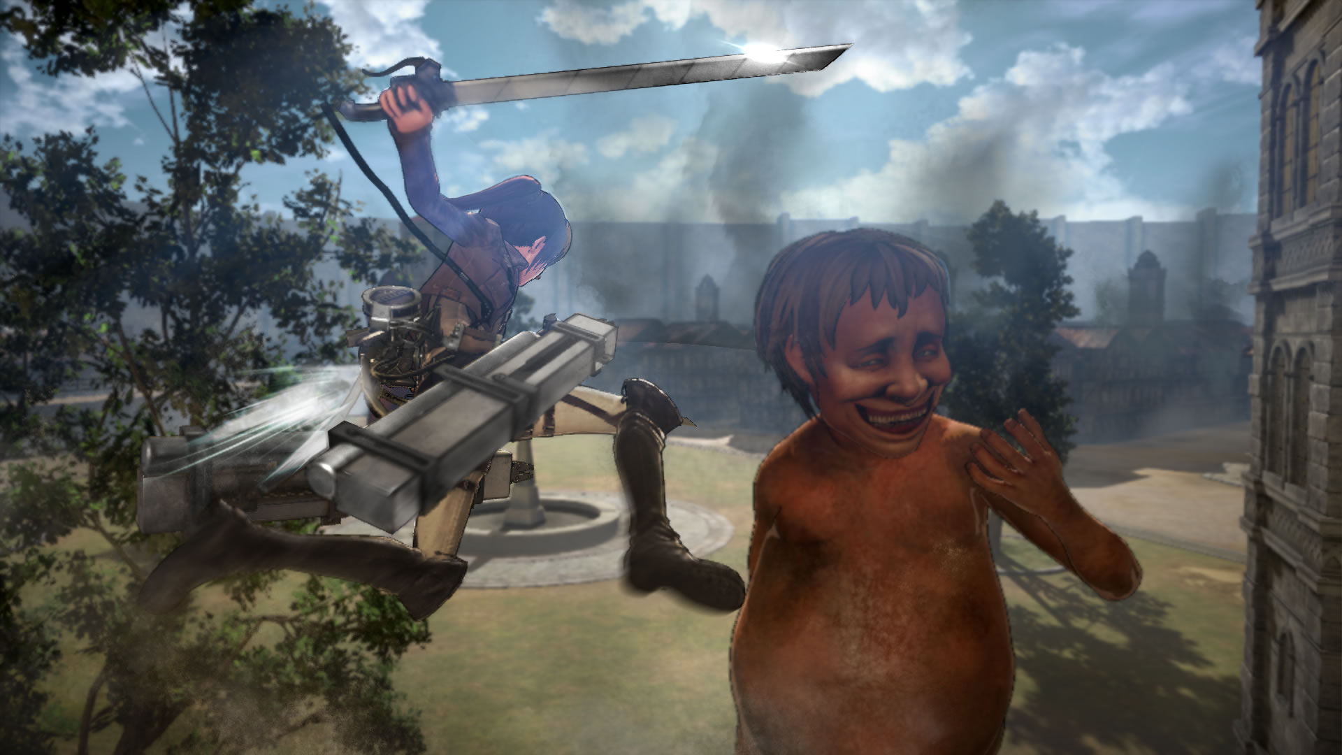 Koei Tecmo Attack on Titan Nov Screenshots 13