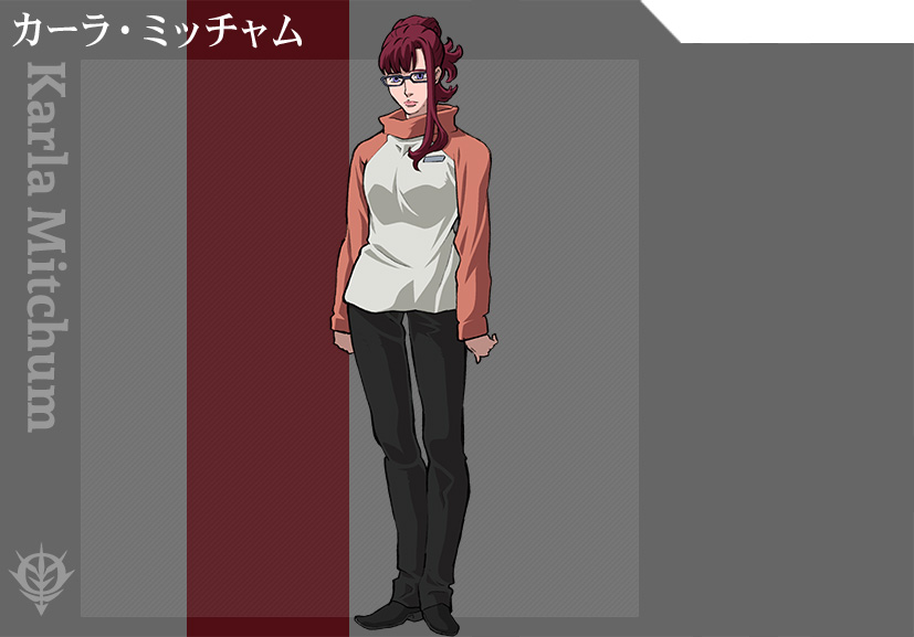 Mobile-Suit-Gundam-Thunderbolt-Anime-Character-Designs-Kara-Mitchum