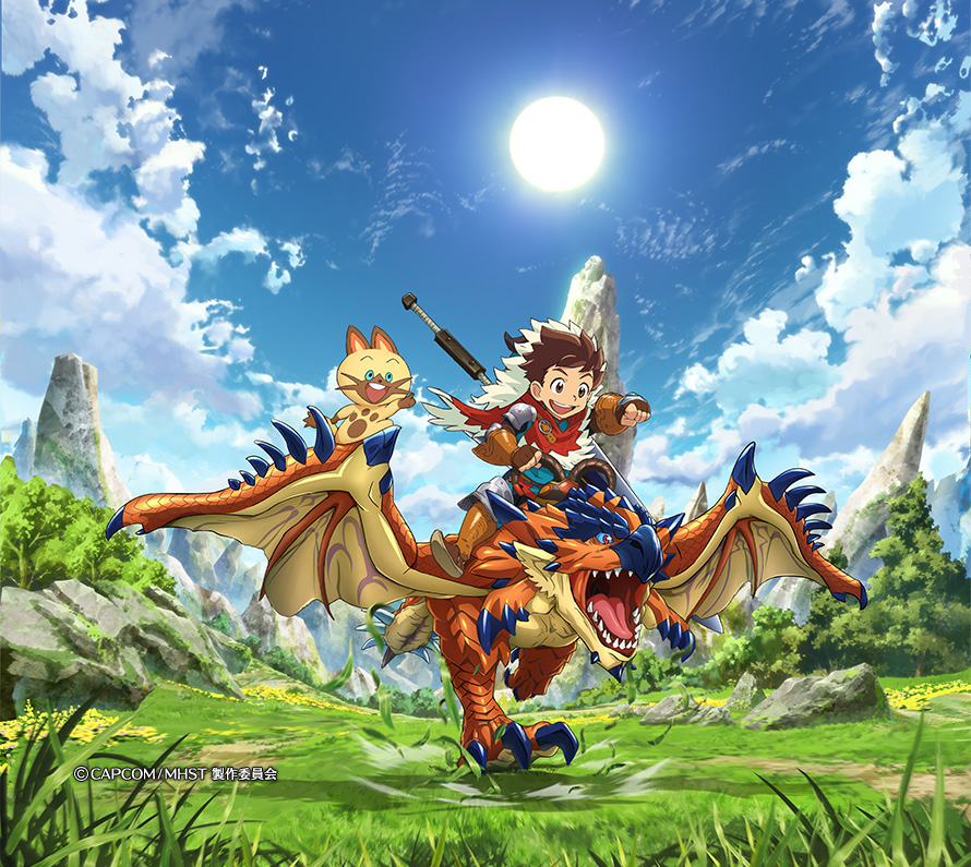 Monster-Hunter-Stories-Anime-Visual