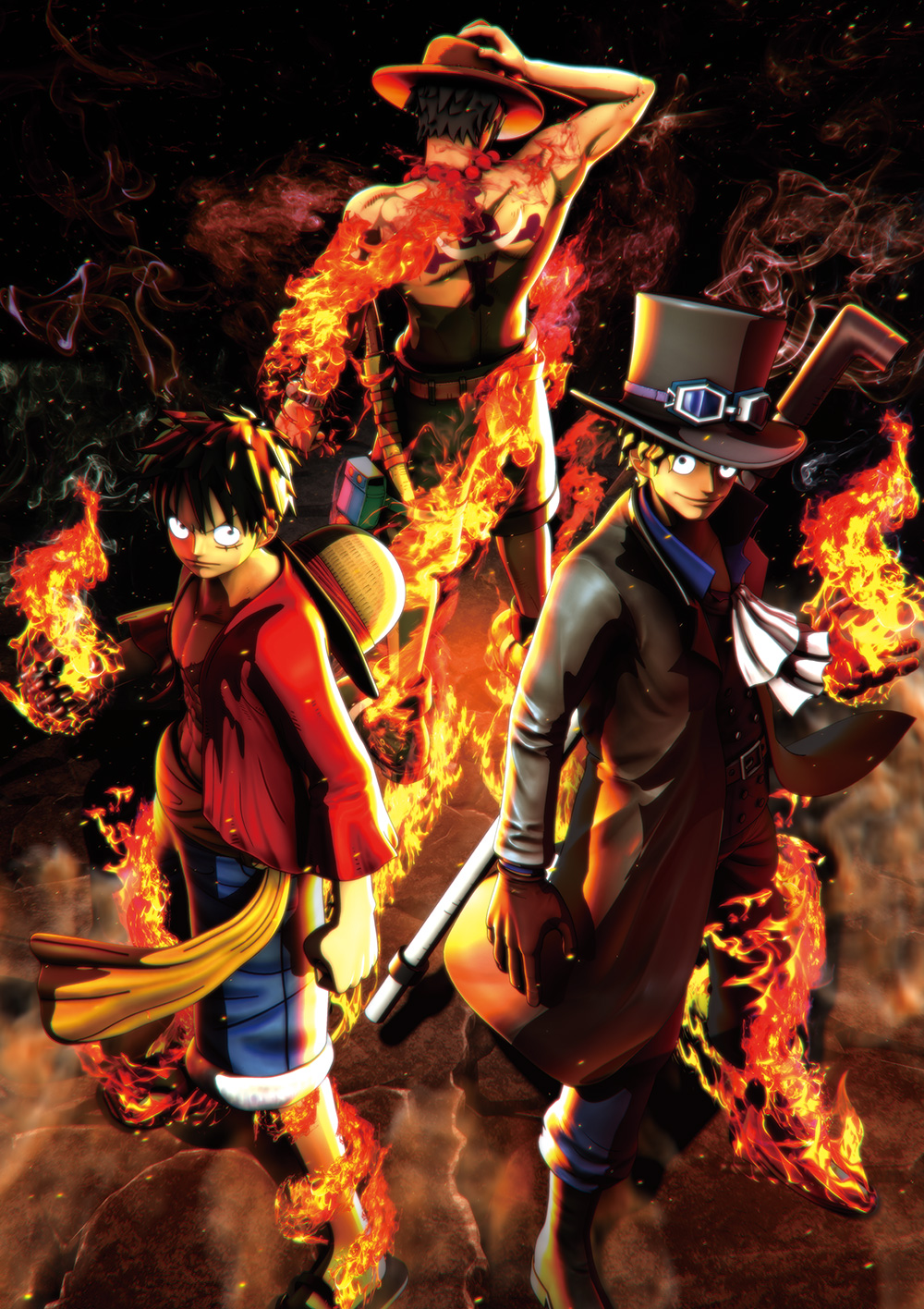 One-Piece-Burning-Blood-Key-Visual