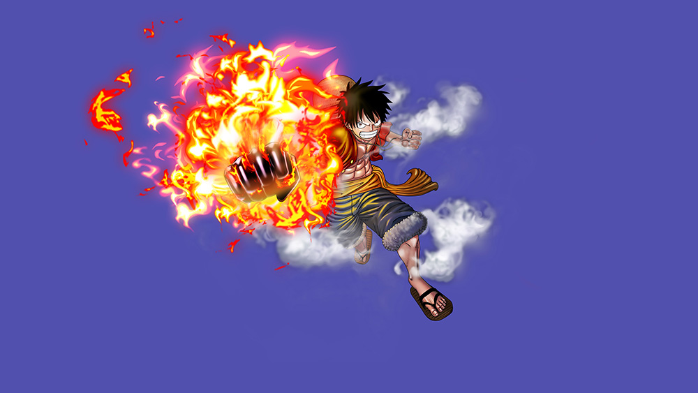 One-Piece-Burning-Blood-Luffy-Visual