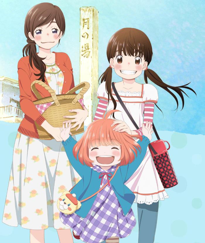 Sangatsu-no-Lion-Anime-Characters-Hinata-Kawamoto,-Akari-Kawamoto-and-Momo-Kawamoto