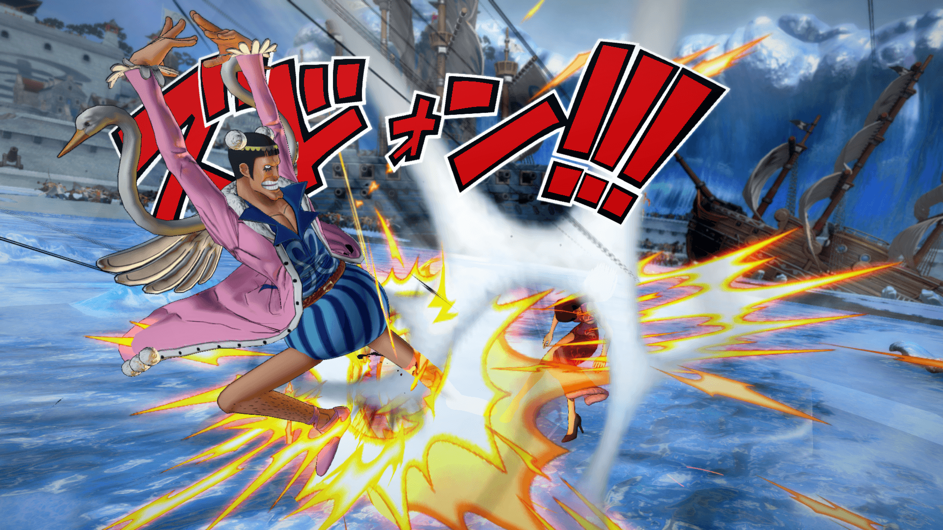 One Piece Burning Blood April Screenshots 18