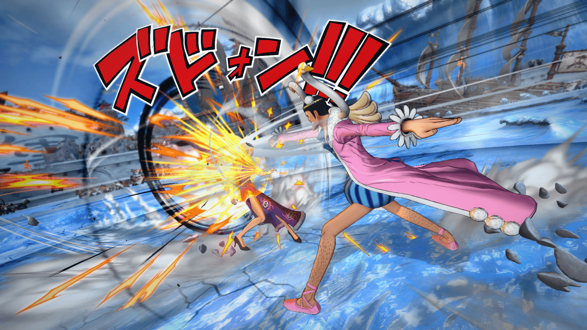 One Piece Burning Blood April Screenshots 19