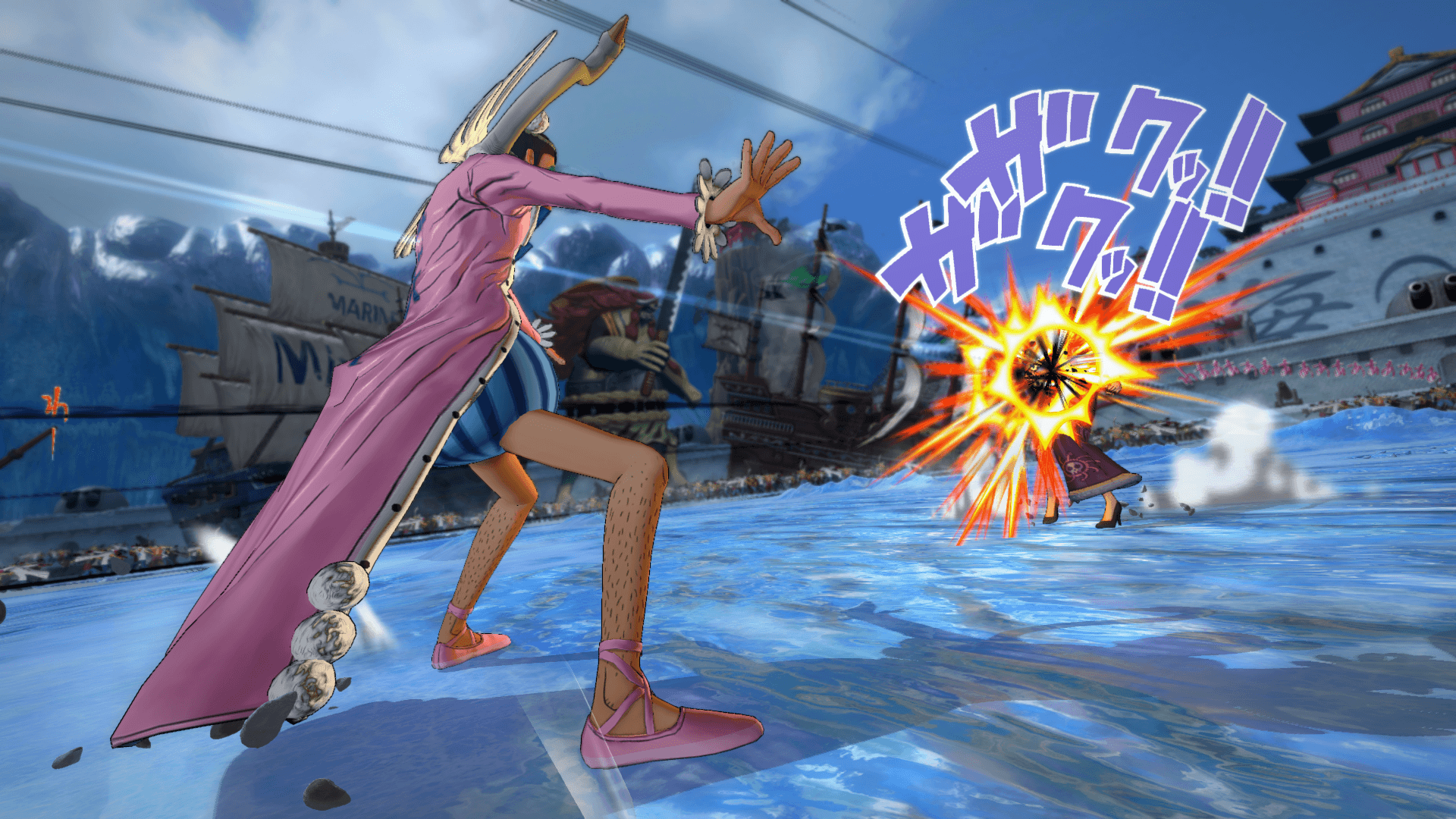 One Piece Burning Blood April Screenshots 20