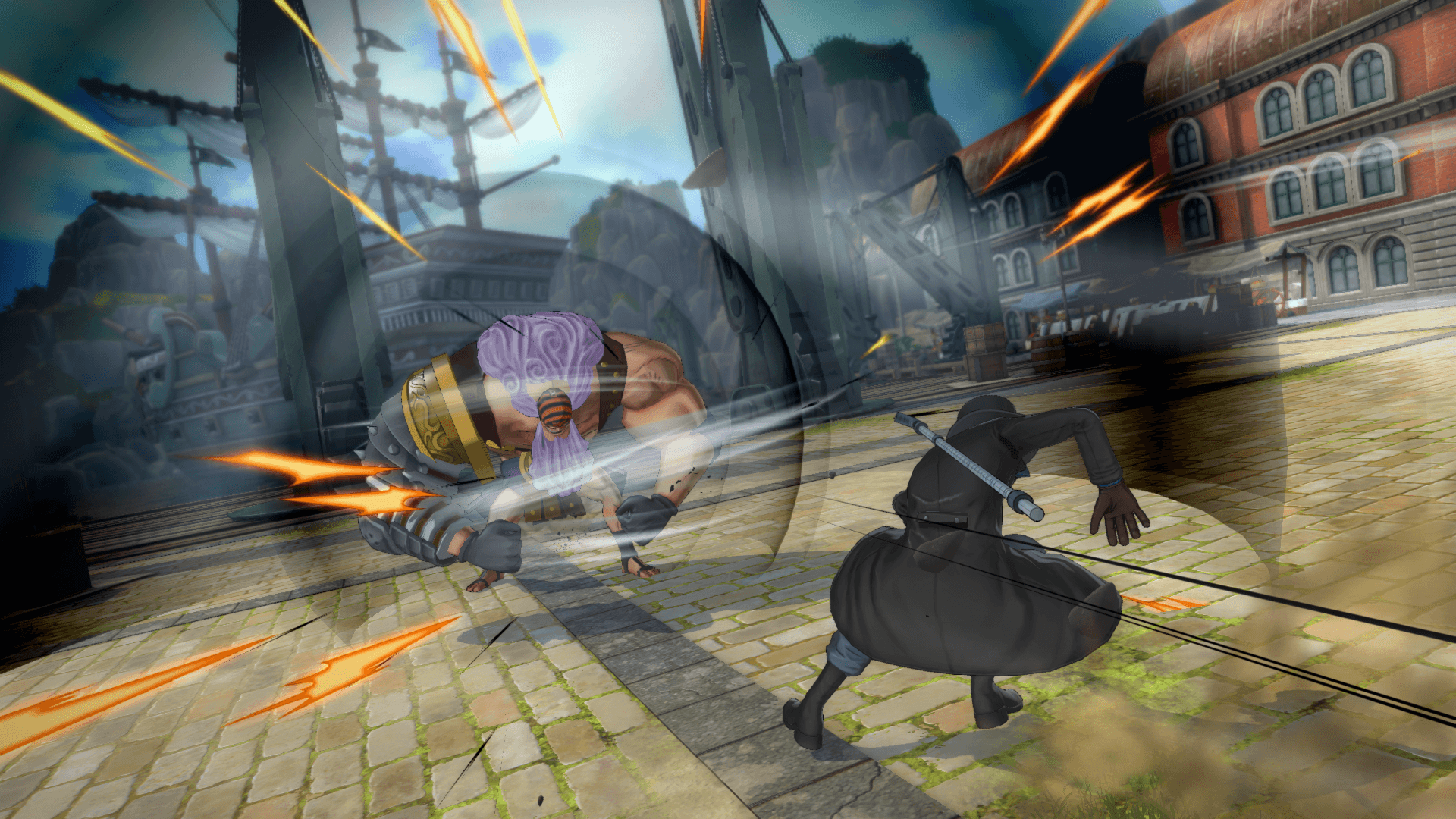 One Piece Burning Blood April Screenshots 34