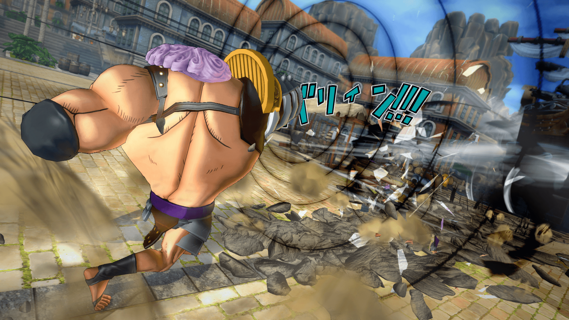 One Piece Burning Blood April Screenshots 36