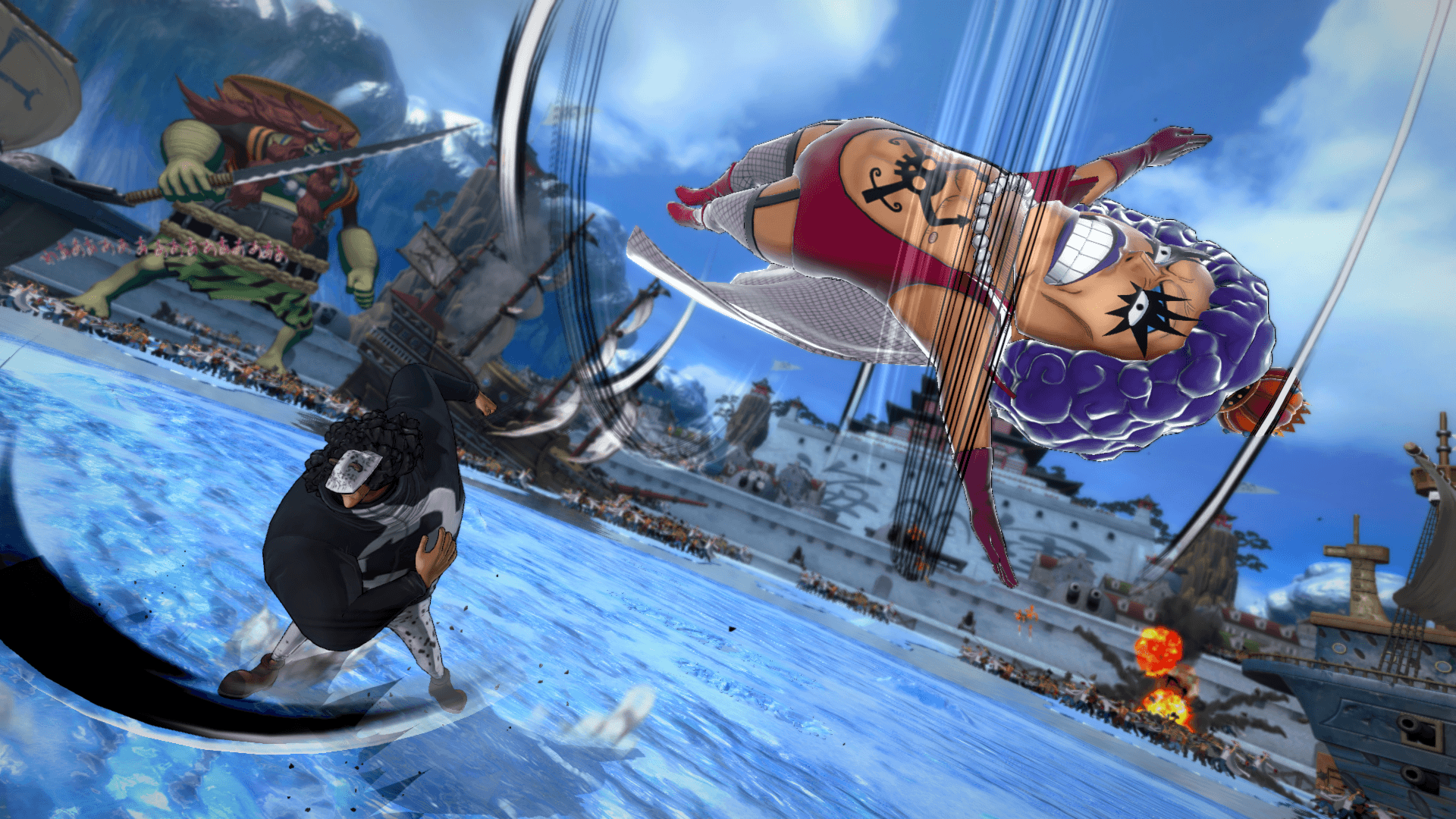One Piece Burning Blood April Screenshots 50