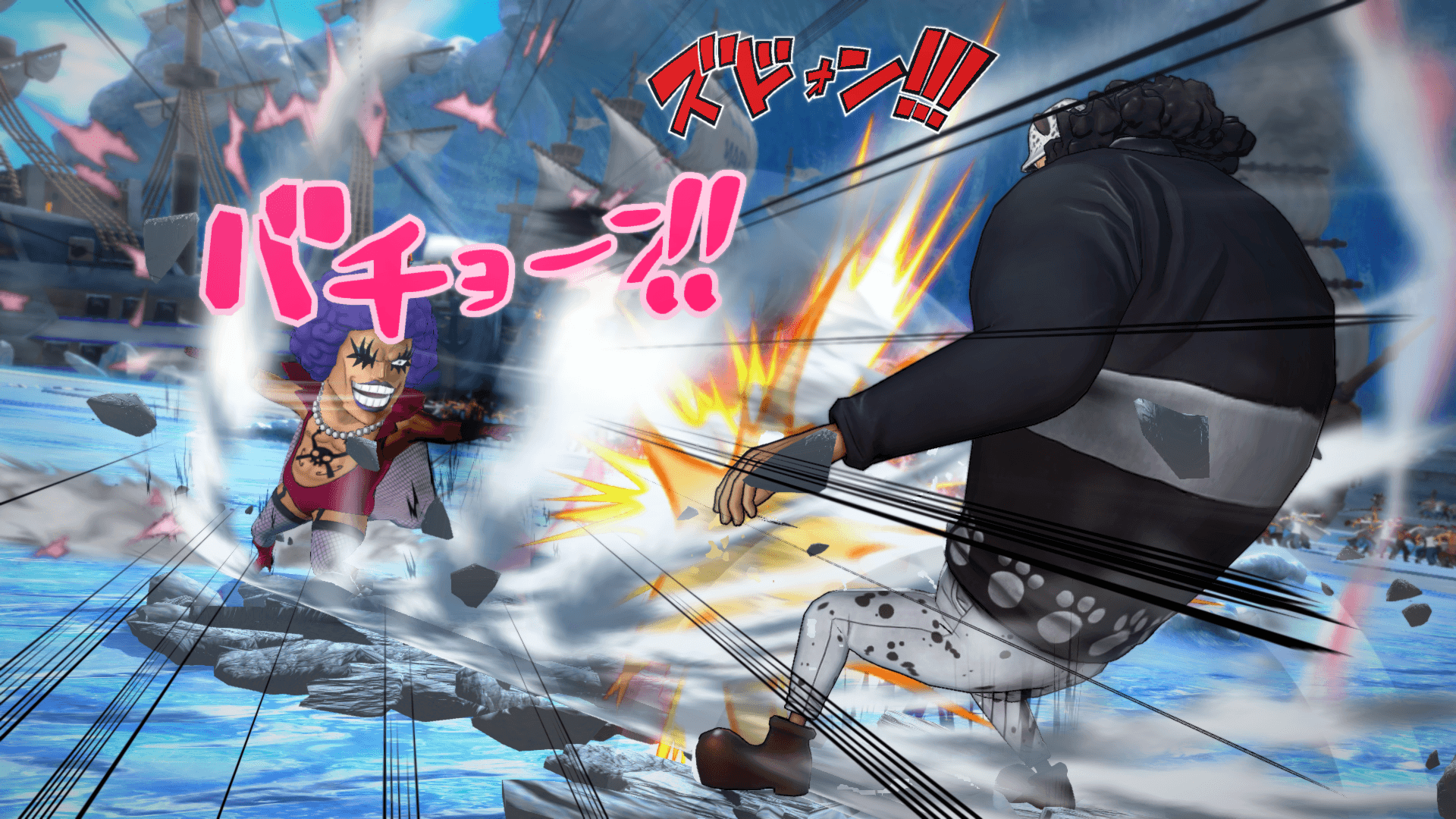 One Piece Burning Blood April Screenshots 51