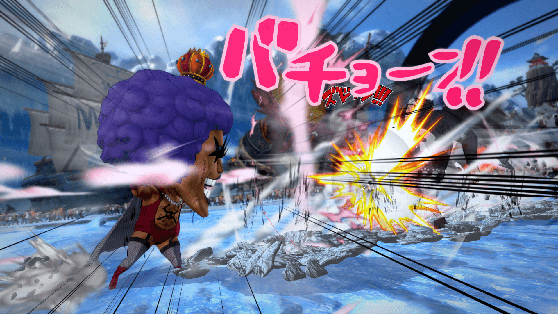 One Piece Burning Blood April Screenshots 53
