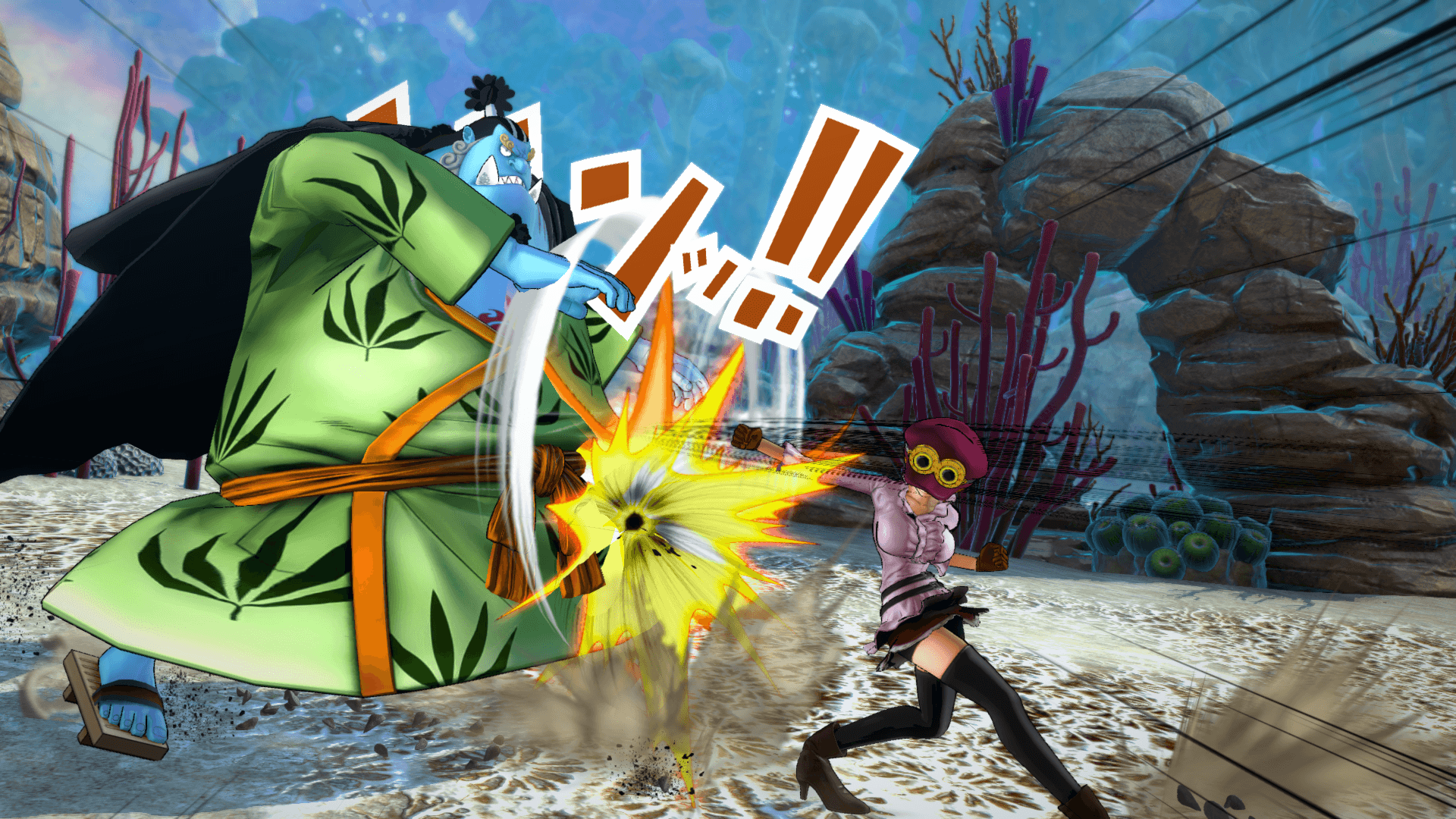 One Piece Burning Blood April Screenshots 56