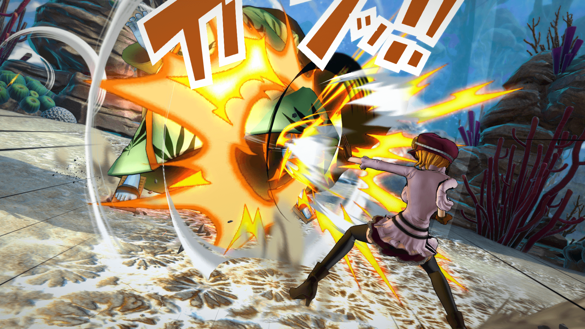 One Piece Burning Blood April Screenshots 58