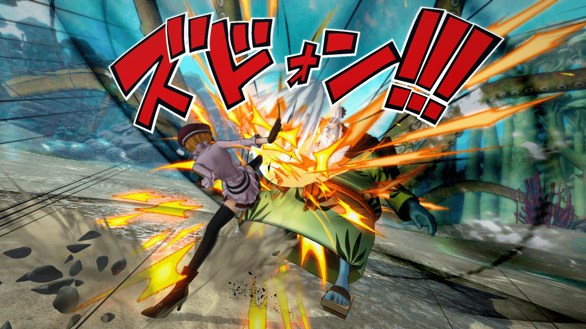 One Piece Burning Blood April Screenshots 62