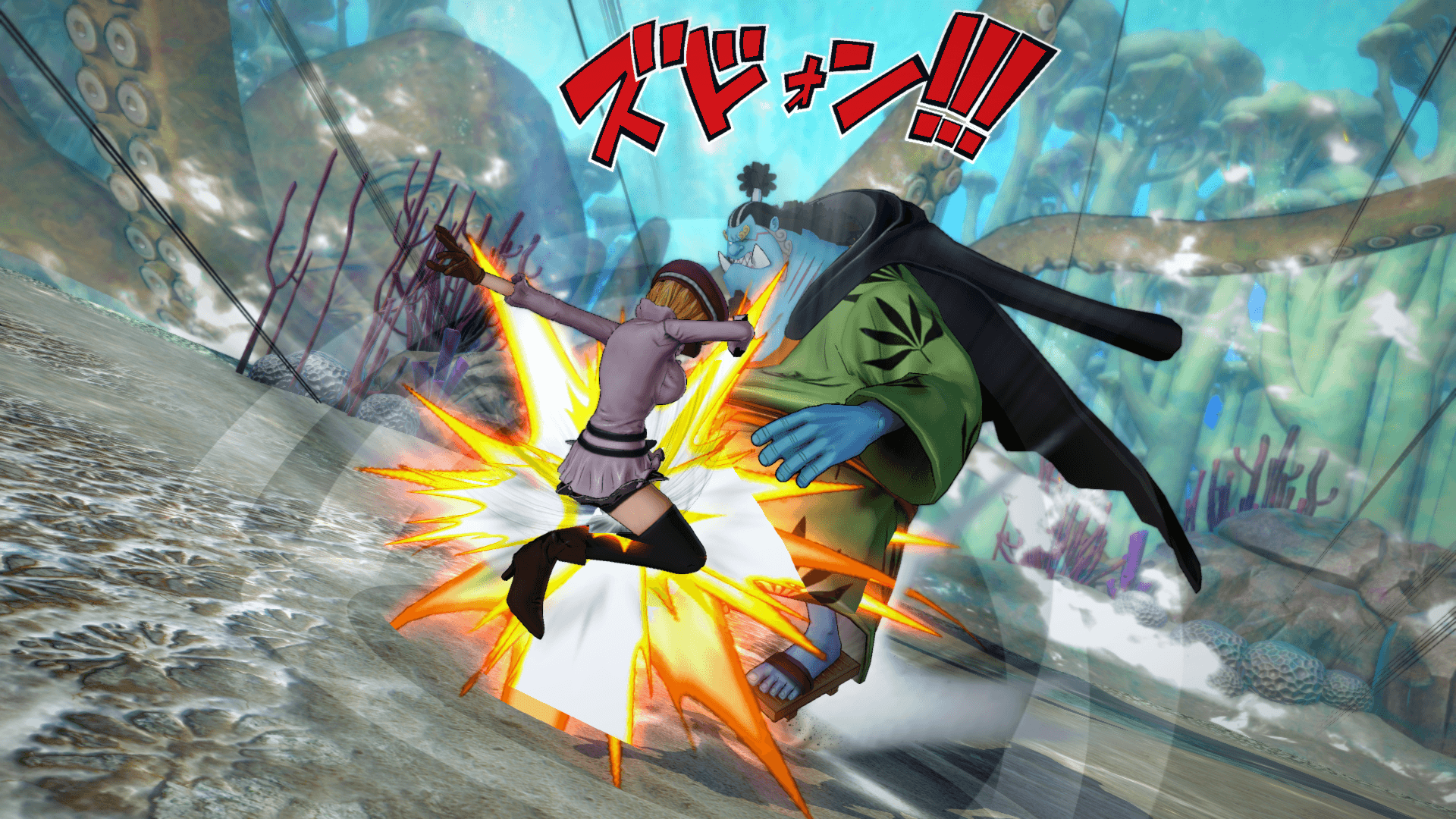 One Piece Burning Blood April Screenshots 64