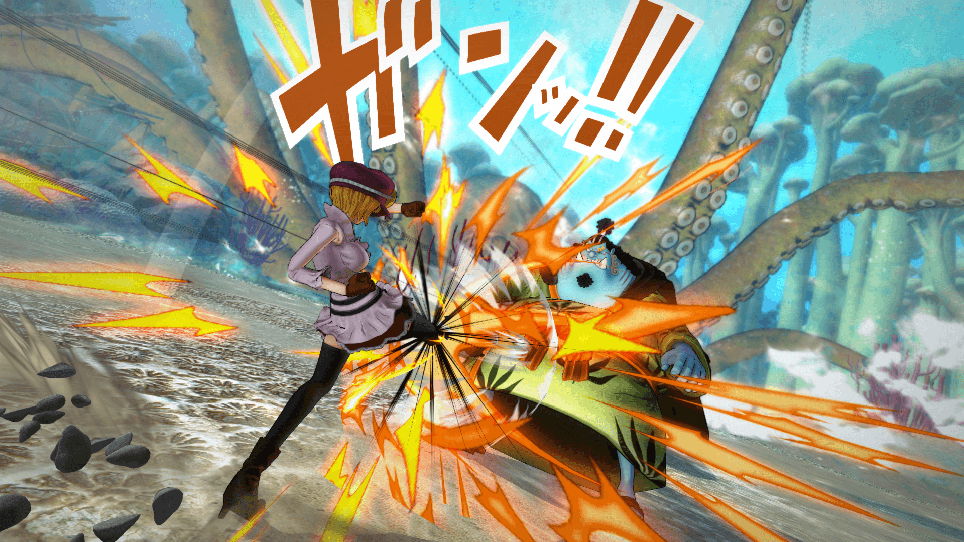 One Piece Burning Blood April Screenshots 65