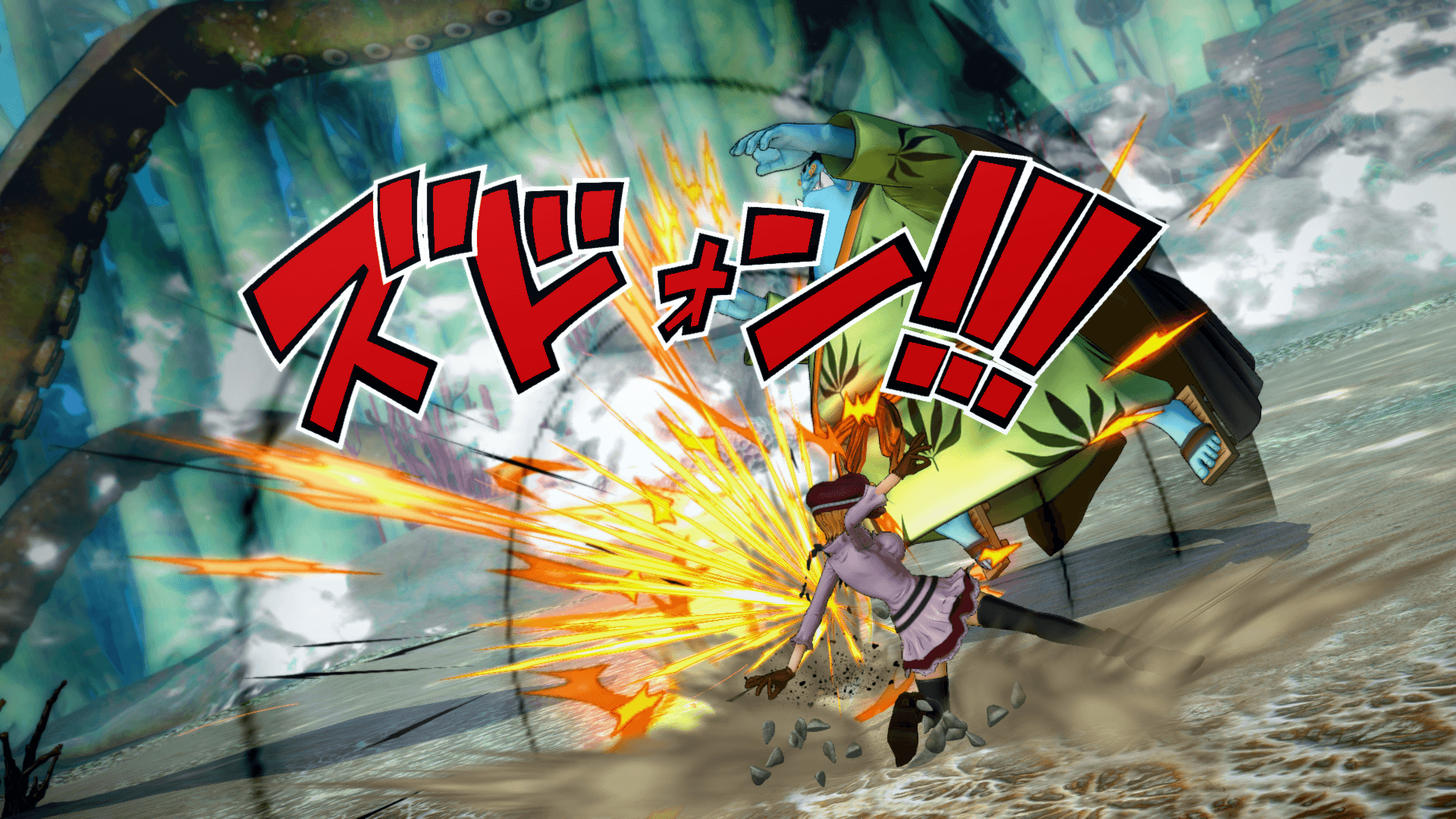 One Piece Burning Blood April Screenshots 66