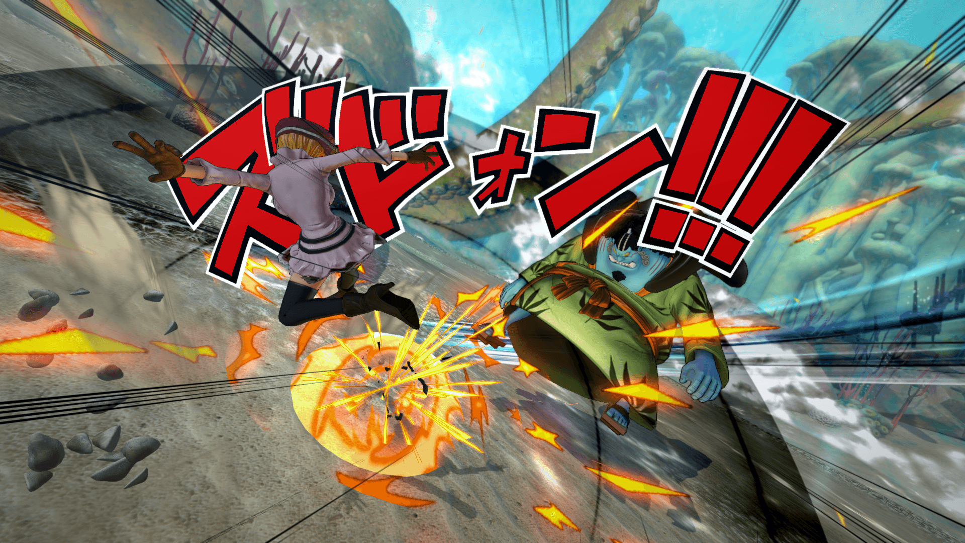 One Piece Burning Blood April Screenshots 67