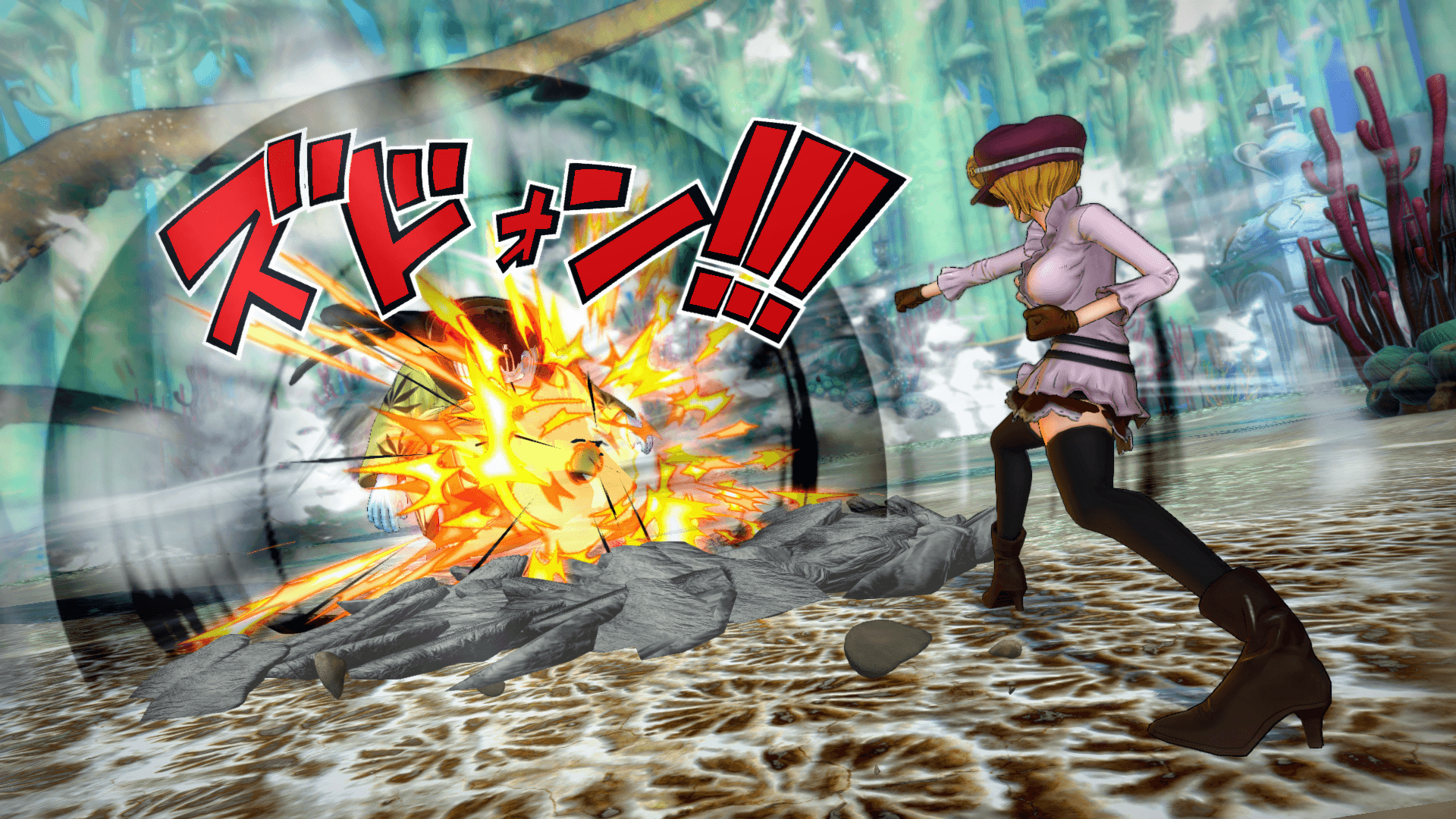One Piece Burning Blood April Screenshots 68