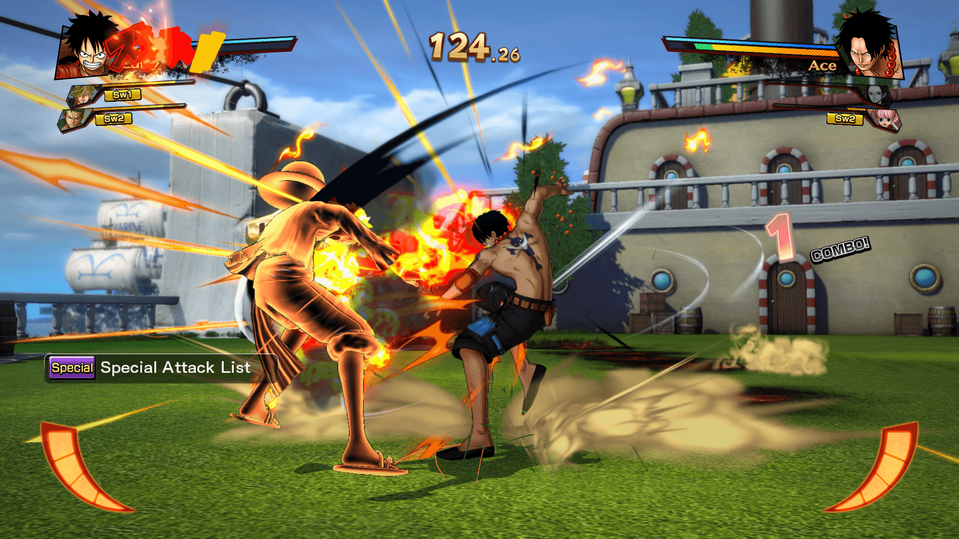 One Piece Burning Blood April Screenshots 90