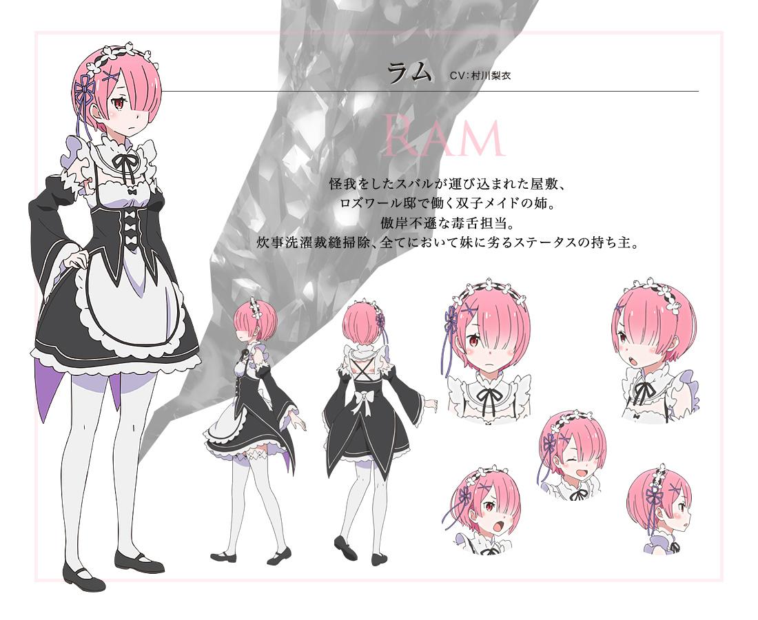 Re-Zero-kara-Hajimeru-Isekai-Seikatsu-Anime-Character-Designs-Ram