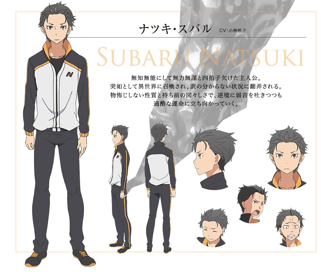 Re-Zero-kara-Hajimeru-Isekai-Seikatsu-Anime-Character-Designs-Subaru-Natsuki