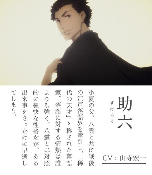 Shouwa-Genroku-Rakugo-Shinjuu-Anime-Character-Designs-Sukeroku-Yuurakutei