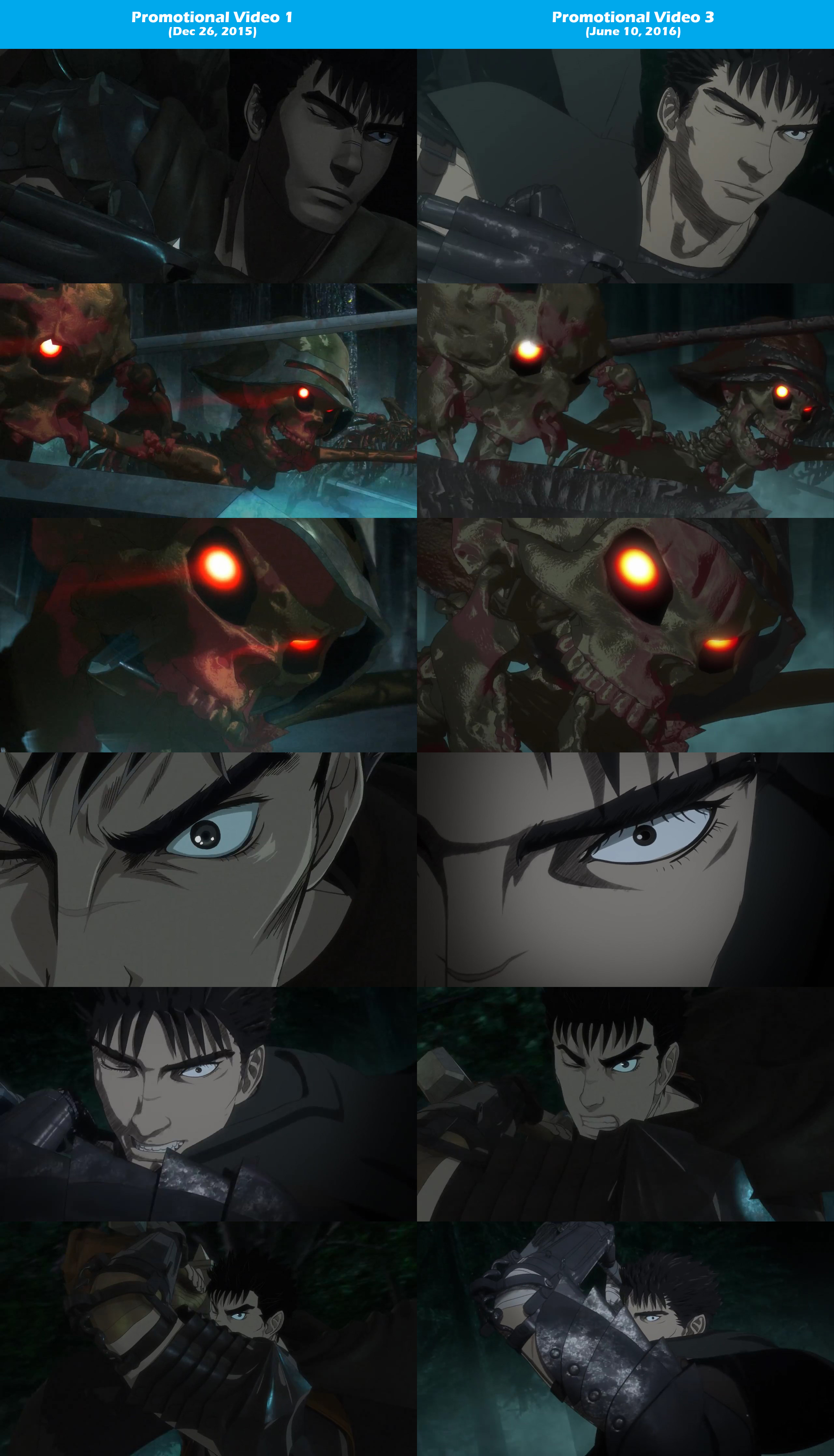 2016-Berserk-Anime-PV-1-vs-PV-3-Comparison-2