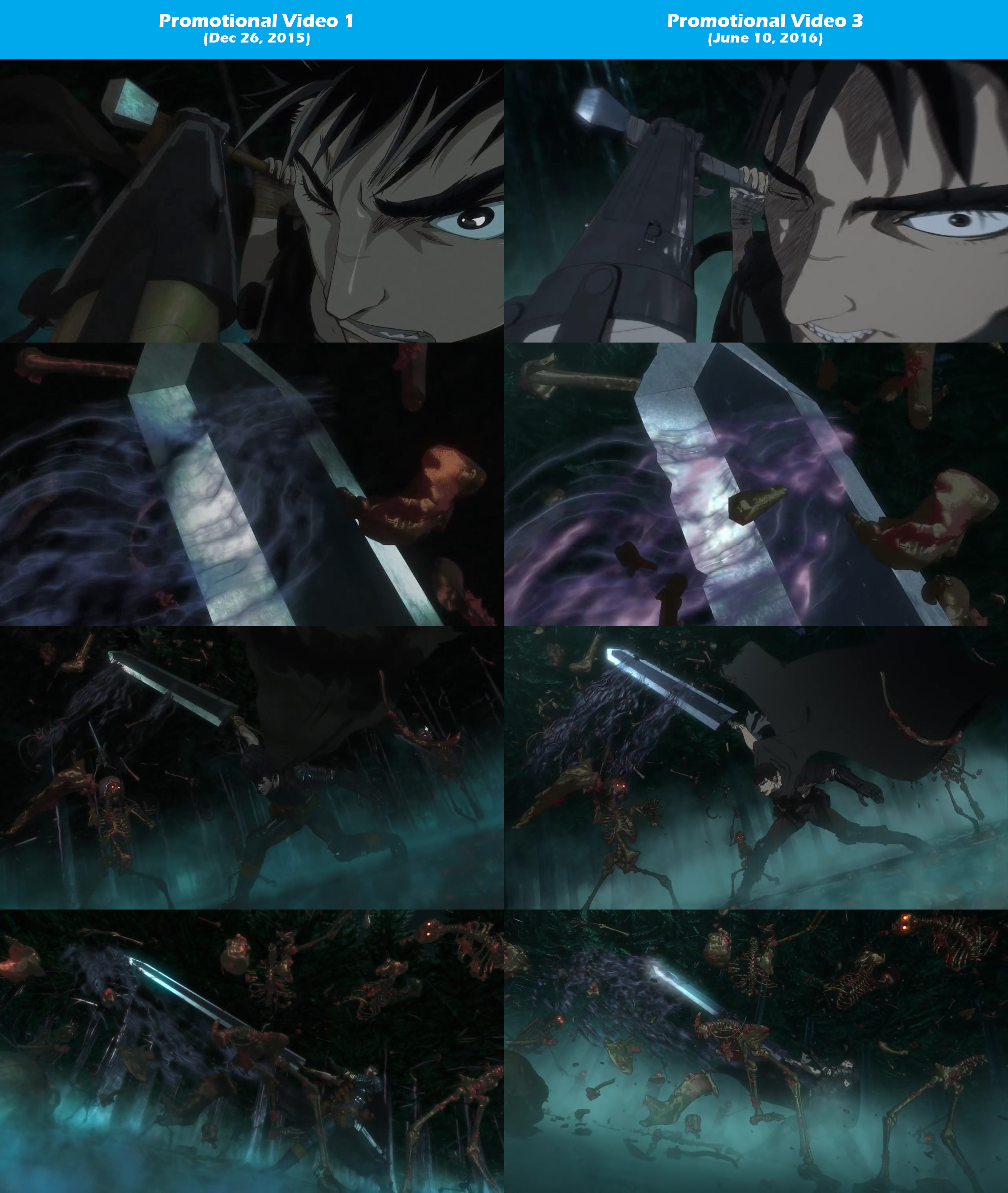 2016-Berserk-Anime-PV-1-vs-PV-3-Comparison-3