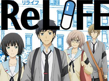 ReLIFE Anime Airs July 2 - Visual, Cast, Character Designs & Promotional Video Revealed