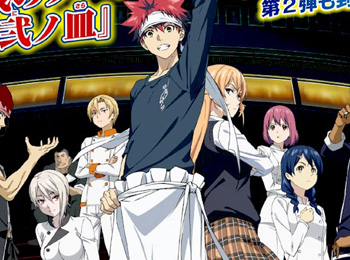 Shokugeki-no-Souma-Season-2-Debuts-July-2nd---New-Visual-Previewed