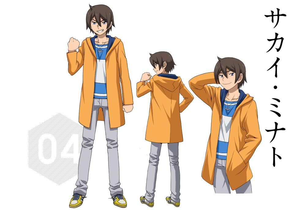 Gundam-Build-Fighters-Try-Character-Designs-Minato-Sakai