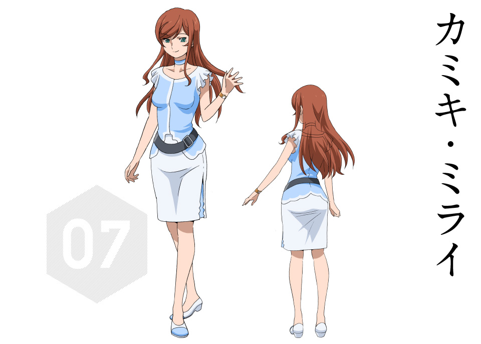Gundam-Build-Fighters-Try-Character-Designs-Mirai-Kamiki