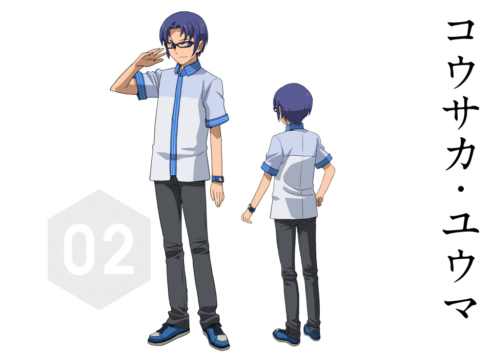 Gundam-Build-Fighters-Try-Character-Designs-Yuuma-Kousaka