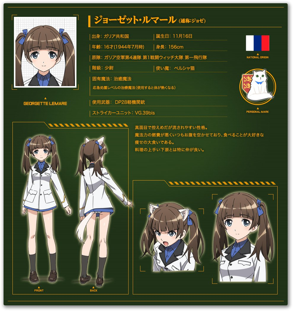 Brave-Witches-Anime-Character-Designs-Georgette-Lemare