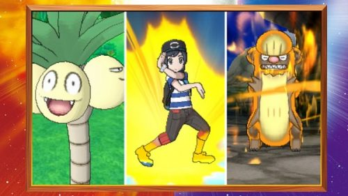 Pokemon Sun and Moon - Alola Forms & Z-Moves Trailer